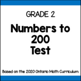 Grade 2 Place Value Test
