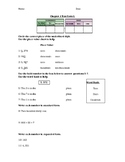 Place Value Test (Simplified for Learning Support Students) 4th Grade