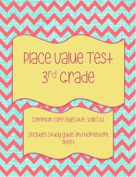 Place Value Test: Study Guide & Homework