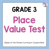 Grade 3 Place Value Test