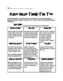 Place Value Think-Tac-Toe 4.NBT.1, 4.NBT.2, 4.NBT.3, & 4.NBT.4