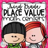 Place Value Third Grade Math Centers