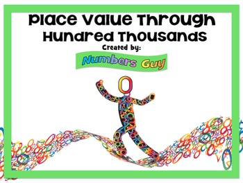 Place Value Through Hundred Thousands (Part of Place Value