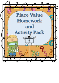 Place Value Through Millions Homework and Activity Set