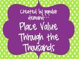 Place Value Through the Thousands Set