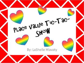 Place Value Tic Tac Show/odd even/subtraction