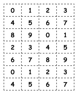 Place Value Tic Tac Toe - 3 Digit Numbers