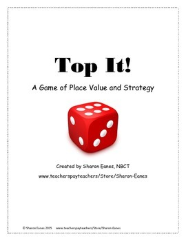 Place Value Top It!