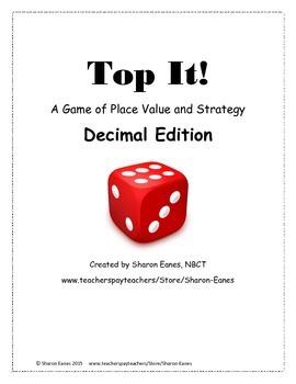Decimal Edition Place Value Top It