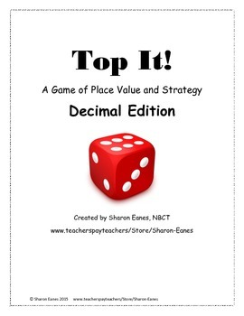 Decimal Edition Place Value Top It