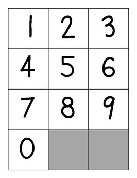 Place Value Top-It Game Directions and Cards (aligns to CCSS Everyday Math)