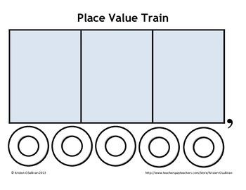 Place Value Train Activity