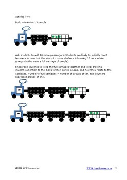 Place Value Trains