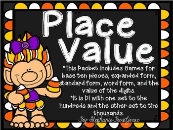Place Value Trolls (Hundreds and Thousands)