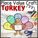 Place Value Craft: Turkey