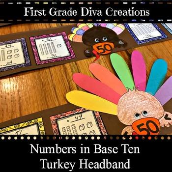Place Value Turkey Headband