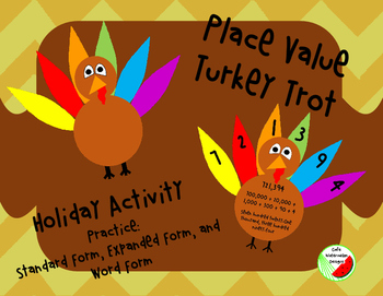 Place Value Turkey Trot