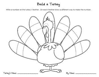 Place Value Turkeys