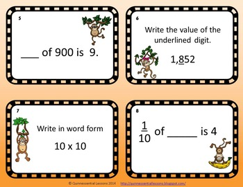 Place Value Twisted Scoot (Grades 4-5)
