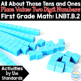 Place Value: Two Digit Numbers All About Those Tens & Ones 1.NBT.B.2 Common Core