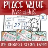 Place Value Two Digits Learning Centers