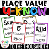 Place Value Game for Math Centers or Stations: U-Know {Who