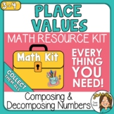 Place Value Understanding Composing Numbers Activities Math Kit