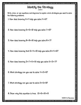 Place Value Understanding and Properties of Operations Worksheets