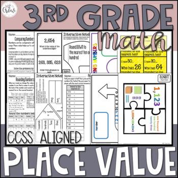 3rd Grade Place Value Unit ~Common Core~