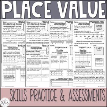 3rd Grade Math Place Value Unit