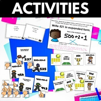 Place Value Worksheets Games Activities