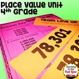 Place Value Unit 4th Grade