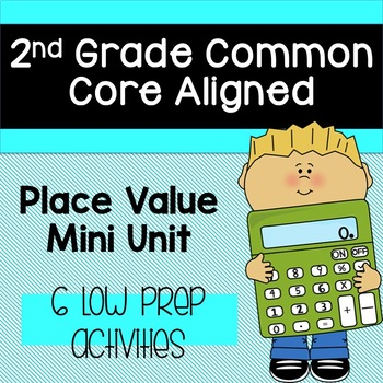 Place Value Unit (Common Core Aligned): 5 ways to make a number