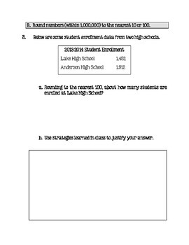Place Value Unit- CCSS NBT Number and Operations in Base Ten