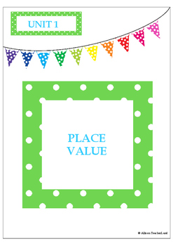 Place Value Unit (Guided Math/Math Workshop Style)