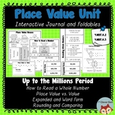 Place Value Unit - Interactive Notebook - Foldables - 4.NB
