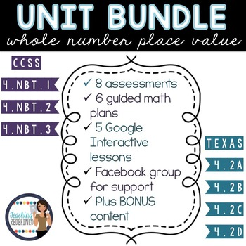Place Value Unit MEGA BUNDLE