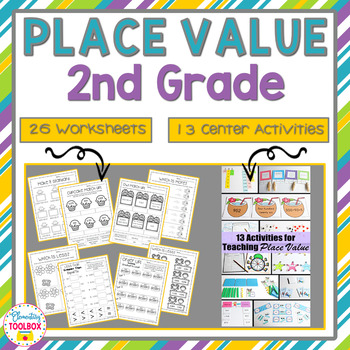 Place Value Unit-Second Grade Math