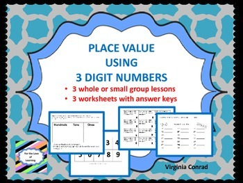 Place Value Using 3 Digit Numbers