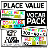 Place Value VOCABULARY PACK