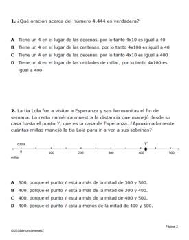 Place Value - Valor Posicional Parte 1 - STAAR - Spanish