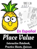 Place Value - Valor de Posicion -- SPANISH