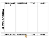 Place Value Visual Mat