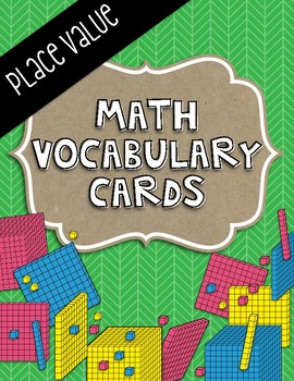 Place Value Vocabulary