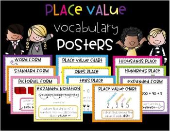 Place Value Vocabulary