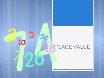 Place Value Vocabulary 3rd and 4th