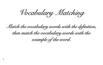 Place Value Vocabulary Center