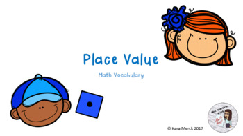 Place Value Vocabulary PowerPoint and Student Notes