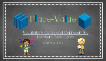 Place-Value Vocabulary and Task Cards