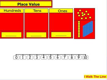 Place Value Walk the Line